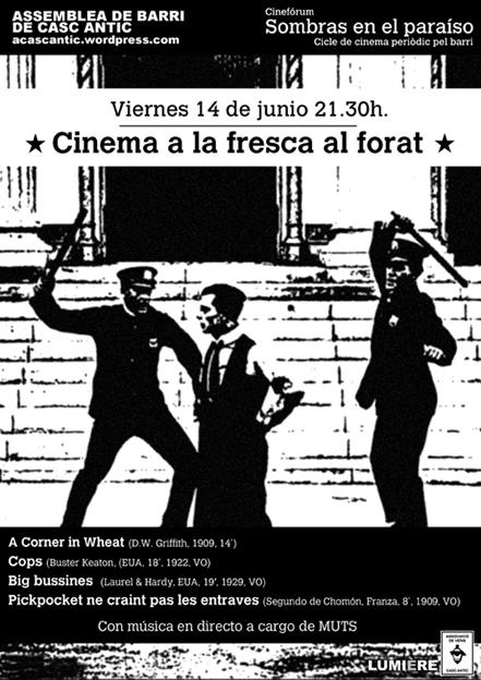 Cinefóruma a la fresca del Forat de la Vergonya 2013